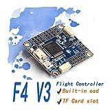 AOKFPV F4 Flight Controller Flip 32 Omnibus F4 V3 Flight Controller Eingebautes OSD Barometer SD Blackbox für RC Drone