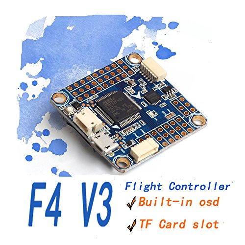 AOKFPV F4 Flight Controller Flip 32 Omnibus F4 V3 Flight Controller Eingebautes OSD Barometer SD Blackbox für RC Drone (Esc-modul)