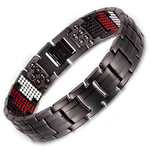 Herren Titan magnetisch bracelet-all sizes-negative Ion Balance