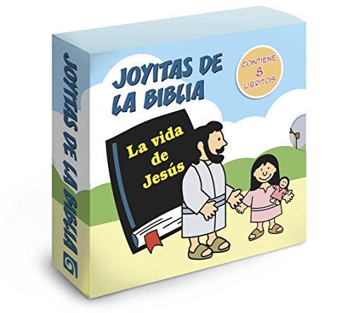 Joyitas de La Biblia: La Vida de Jesus: Un Conjunto de 8 Folleto (Tiny Bible Treasures) por Didier Martin