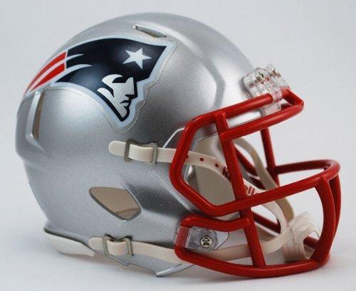 NFL New England Patriots Revolution Speed Mini Helmet by Riddell