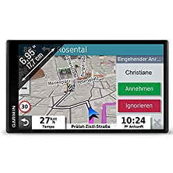 Garmin DriveSmart 65 MT-S EU Navi -  extragroßes Touch-Display, 3D-Navigationskarten und Live-Traffic via App