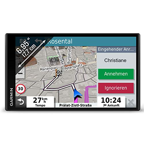 Garmin DriveSmart 65 MT-S EU Navi -  extragroßes Touch-Display, 3D-Navigationskarten und Live-Traffic via App Digital Navigation System