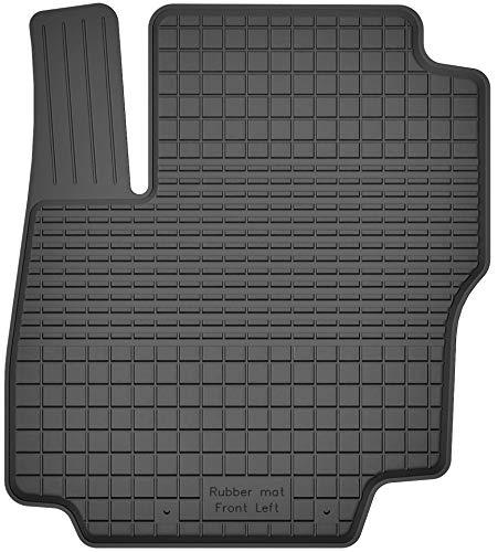 Fußmatten Gummimatten Winter Auto-matten Gummi hoher Rand 1-teilig einzeln Fahrerseite