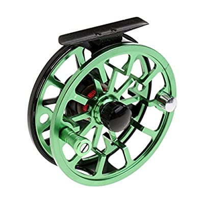 MagiDeal 7/8 WF CNC Machined Aluminum Alloy Fly Fishing Reel 2+1BB Fly Reels Right/Left-Handed by MagiDeal