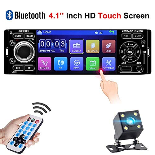 SPFCAR Auto-Zentrale Multimidia Multimedia Auto 1Din 1 Din 4.1 \'\' HD-Touchscreen Bluetooth-Radio MP3 MP5 Musik Video Player Autoradio