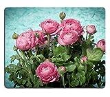 Liili Mauspad Naturkautschuk Mousepad Bild-ID: 21830804gelb Blumen und ein altes Holz Zaun