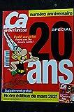 CA M' INTERESSE 241 2001 COVER ASTERIX INVITE SURPISE NUMERO SPECIAL 20 ANS