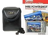 Foto Tasche Tasche Premium Leder Set mit Fotobuch Ihre Powershot Canon