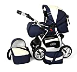 Clamaro 2 in 1 'VIP 2016' Kombi Kinderwagen aus Aluminium inkl. Soft Babywanne und Sport...