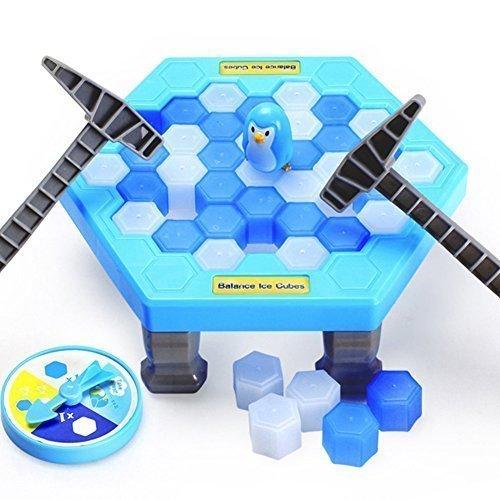 (Pinguin Falle Eisbrecher Kinder Spielzeug Puzzle Tablet Spiel Balance Eiswürfel Umkippen Kühleinheit sparend Pinguin Familie Party interaktiv Über 3 Jahre alte)