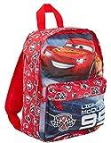 Disney Cars - Zaino per bambini, motivo: Saetta McQueen Red Taglia Unica