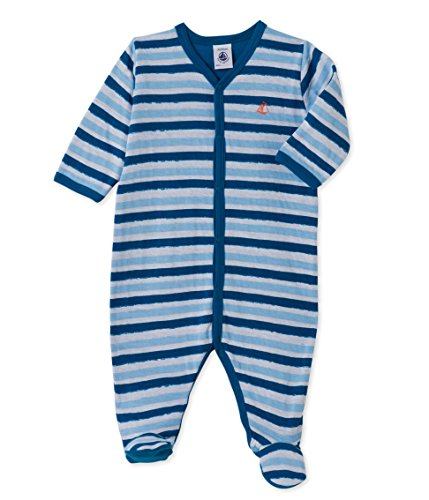 Petit Bateau Baby-Jungen Schlafstrampler Dors bien_22208, Mehrfarbig (Ecume/Fraicheur/Myko Preisvergleich