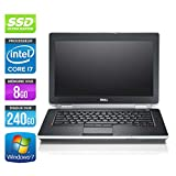 Dell Latitude E6420 - PC portable - 14,1'' - Gris (Intel Core i7 2640M / 2.80 GHz, 8 Go de RAM, Disque dur 240Go SSD, Graveur DVD, Wifi, Windows 7 Professionnel)