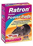 Frunol Ratron Power-Pads 29 ppm 400g Packung Rattengift 0,029g/kg Brodifacoum