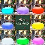 Homever Solarlampen für außen, 40cm/16in Led Solarleuchte Garten mit 9 Beliebte Modus Leuchte, IP67 Wasserdichte für Schwimmbad/Garten Party/Weihnachten