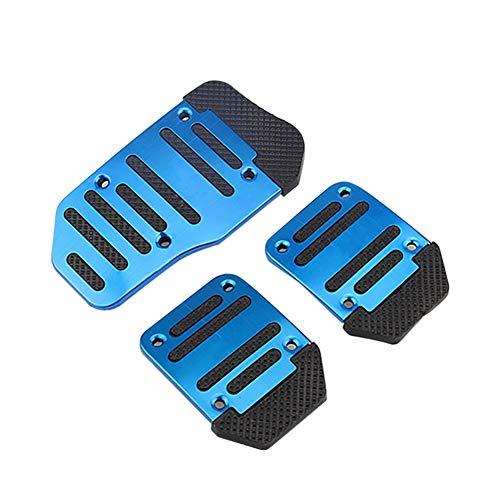 /Aluminium Pedal Pad Kit/ /Schwarz motamec Legierung Pedale Verl/ängerung Teller Set/
