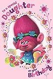 Trolls Special Daughter Birthday Card
