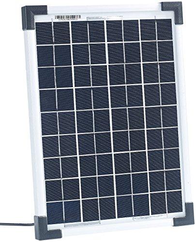 revolt Solarplatten: Mobiles Solarpanel mit monokristalliner Solarzelle 10 W (Kleine Solarzelle)