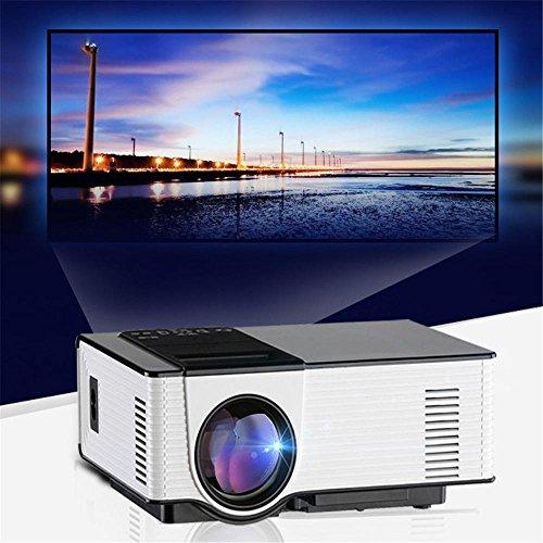 """CPX-314 4 """"Pannello LCD singolo display WVGA (800 * 480) Support1920 * 1080 Luminosità 1500ANSI LM proiettore del teatro domestico"""