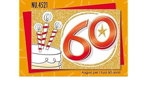 Subito Disponibile Biglietto Auguri Compleanno 60 Anni