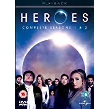Heroes: Complete Seasons 1 & 2 [DVD]