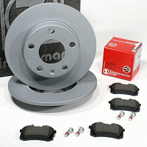 Preisvergleich Produktbild Zimmermann Bremsscheiben PR-Nr. 1KD Coat Z / Bremsen + Bremsbeläge für hinten / die Hinterachse