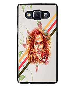 PrintDhaba Abstract Design D-5885 Back Case Cover for SAMSUNG GALAXY A5 (Multi-Coloured)
