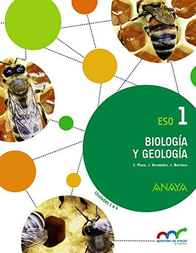 Biología y Geología 1. (Aprender es crecer en conexión) - 9788467850765 por Concepción Plaza Escribano