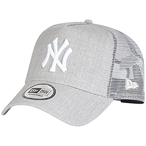 New Era MLB Heather Truck Adjustable Cap NY YANKEES Grau, Size:ONE SIZE