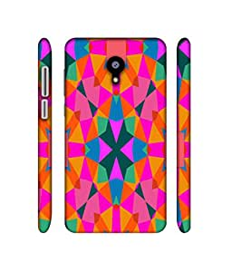 NattyCase Pattern Art Design 3D Printed Hard Back Case Cover for Meizu M2