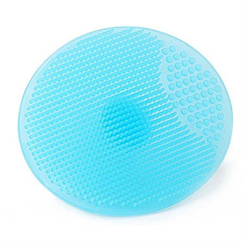 XJoel Silikon Wash Pad Gesicht Peeling Mitesser Gesichtsreinigung Schönheit Pinsel 6pcs (Wäscher Halter Und Schwamm)