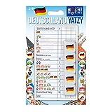 Huch & Friends 879622 - Deutschland Yatzy, Familien Wort/Würfelspiele