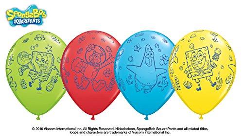 10 Luftballons Spongebob 26cm