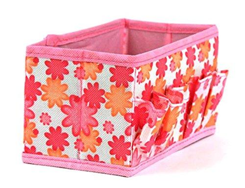Preisvergleich Produktbild Super UD klein zusammenklappbar Multifunktions Make Up kosmetische Aufbewahrungsbox Behälter Tasche Farbe In zufälliger
