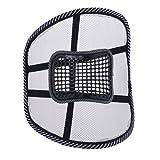 Homyl 1 x Atmungsaktive Mesh Rückenstütze Rückenkissen für Autositz Oder Bürostuhl