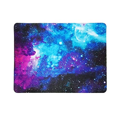 hahuha  Mauspad Galaxy Rectangle rutschfeste Gummi Mousepad Gaming Mouse Pad - Uhr Kristall-fossil