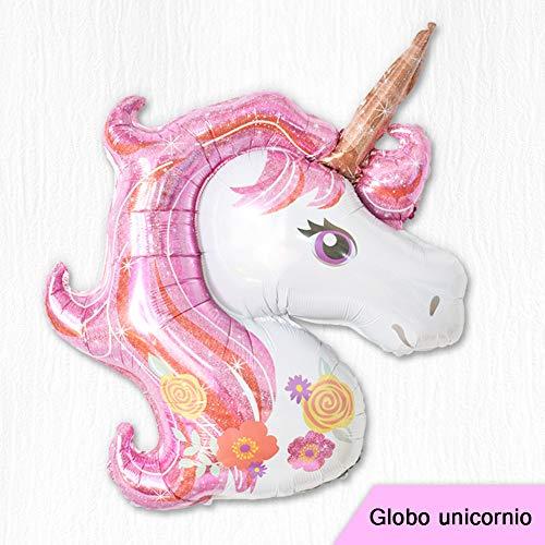 Cupcinu Globos Grandecitos de Unicornio Globos Gigantes Fiesta Cumpleaños Decoraciones Boda Navidad 1pcs