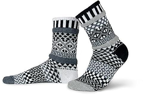 Solmate Socks - Odd or Mismatched Crew Socks for Women