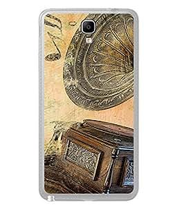 Fuson Designer Back Case Cover for Samsung Galaxy Note 3 Neo :: Samsung Galaxy Note 3 Neo Duos :: Samsung Galaxy Note 3 Neo 3G N750 :: Samsung Galaxy Note 3 Neo Lte+ N7505 :: Samsung Galaxy Note 3 Neo Dual Sim N7502 (Record Masti Gramaphone LP Records Old time)