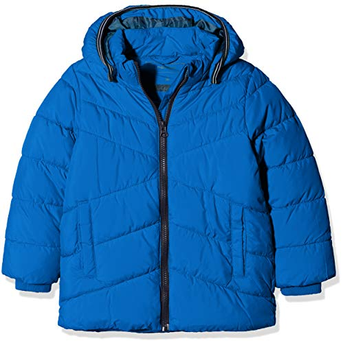 NAME IT Baby-Jungen NMMMIL Puffer Jacket Camp Jacke, Blau Lapis Blue, 92 - Blue Puffer
