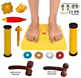 #4: Perfect Magnets Acupressure Mat (Magnets Pyramids) for Pain Relief & Total Health Size 12x12.5