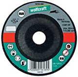 Wolfcraft 1628099 1628099-1 Disco de Cortar para Piedra, Granel diam. 230 x 2,5 x 22,23 mm, plata