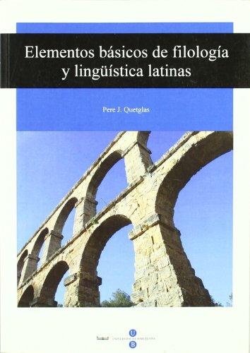 Elementos básicos de filología y lingüística latinas