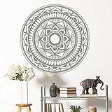Mandala Home Wanddekoration Wandaufkleber Vinyl Home Dekoration Zimmer Yoga Studio Wandbild Lotus...