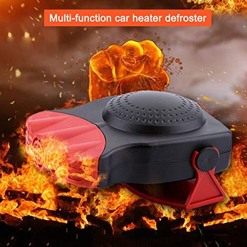 Dastrues Defrost Defog Mini Car Heater Electric Fan Windshield Windows Glass Heated Device
