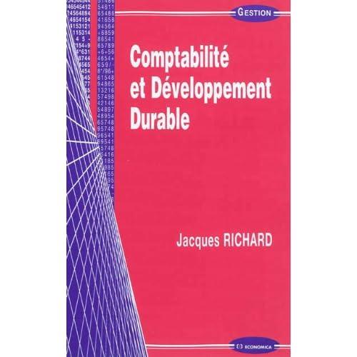 Comptabilite et Developpement Durable