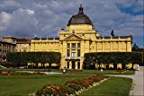 805082 Exhibition Pavilion Zagreb Croatia A4 Photo Poster