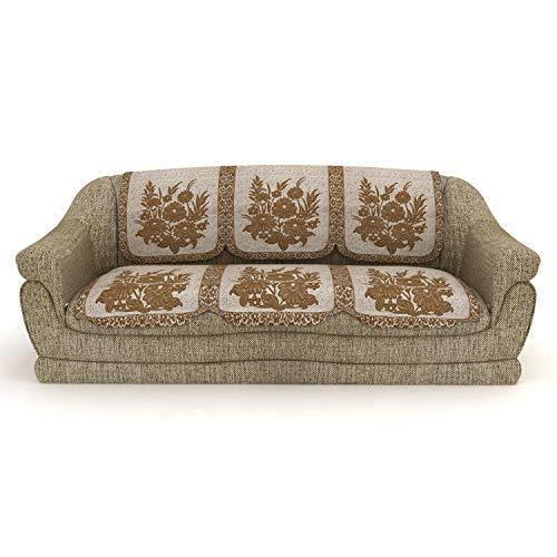 14 Off On Cloth Fusion Superb Designer 10 Pcs Sofa Covers Set Of 5
