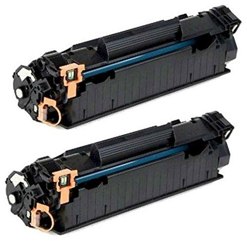 Prestige Cartridge CF283A 83A Pack de 2 Cartouches de Toner compatible avec HP Laserjet Pro MFP M225 / M201 / M202 / M125 / M126 / M127 / M128